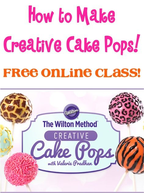 How to Make Wilton Creative Cake Pops! {FREE online class!}