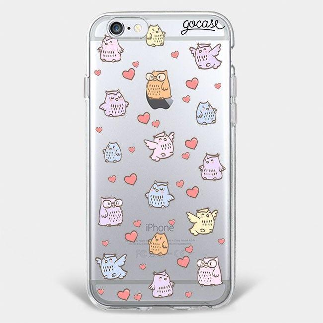 Custom Phone Case Patches Owl