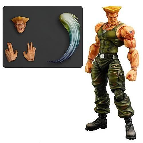 Super Street Fighter IV Guile Play Arts Kai Action Figure @ niftywarehouse.com #NiftyWarehouse #StreetFighter #VideoGames #Gaming