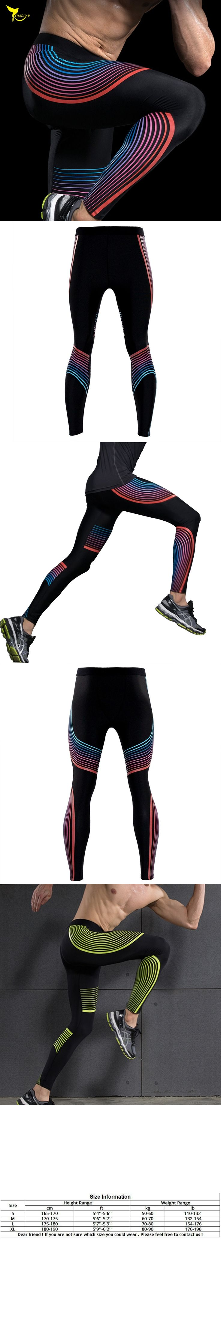 Mens Skinny Pants 2018 New Compression Tights Brand Clothes Base Layer Exercise Fitness Long Leggings Trousers Leisure Pants Man