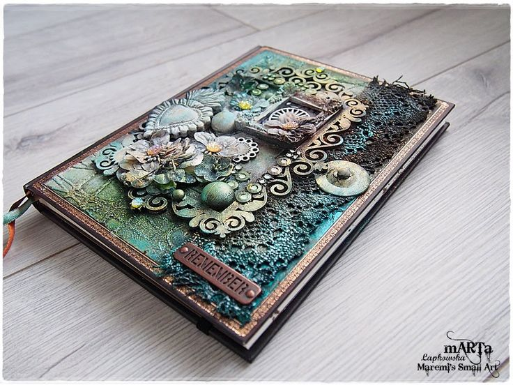 Mixed Media Journal Cover Tutorial