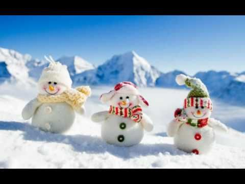 Poďme stavať snehuliaka - YouTube