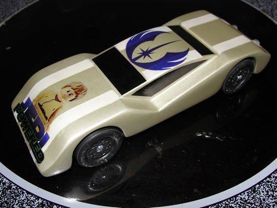 Pinewood Derby car -- Boys' Life magazine