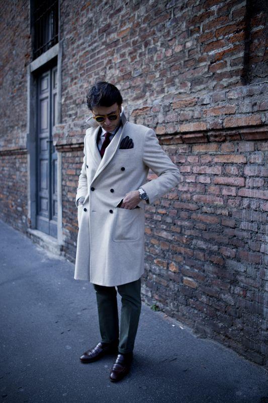 """Fourth picture in Fabio Attanasio's blog post """"MERANO COAT"""". Model: Fabio Attanasio."""