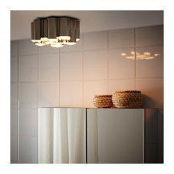 IKEA - SÖDERSVIK, Deckenleuchte, LED, , Für breit gestreutes Licht, das z. B. das Badezimmer wirkungsvoll erhellt.Leuchtdioden verbrauchen ca. 85 % weniger Energie und halten 20-mal länger als Glühlampen.