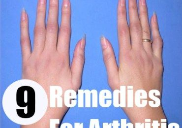 9 Remedies For Arthritis