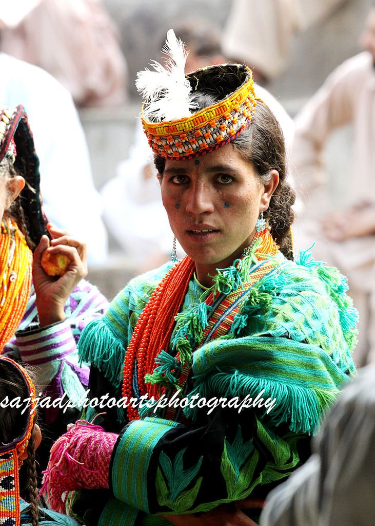 The Kalasha (Kalasha: Kaĺaśa, Nuristani: Kasivo) or Kalash, are a Dardic indigenous people residing in the Chitral District of Khyber-Pakhtunkhwa province of Pakistan. They speak the Kalasha language, from the Dardic family of the Indo-Iranian branch, and are considered a unique tribe among the Indo-Iranian peoples of Pakistan.[3]  The neighboring Nuristani people of the adjacent Nuristan (historically known as Kafiristan) province of Afghanistan once practiced the same religion as the…