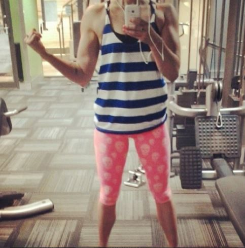 Fan photo wearing the BuildYourEmpire Arctic Striped Singlet