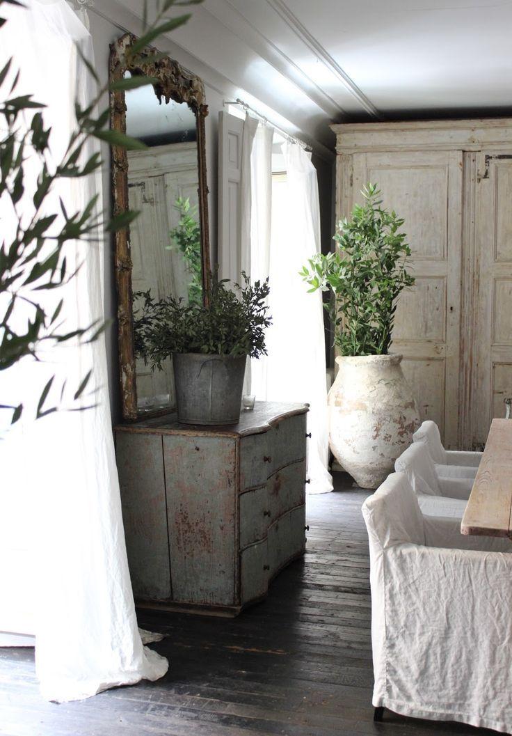 Antiq·BR, comedor, salón, living room, aparador, espejo, estilo provenzal, Provence France