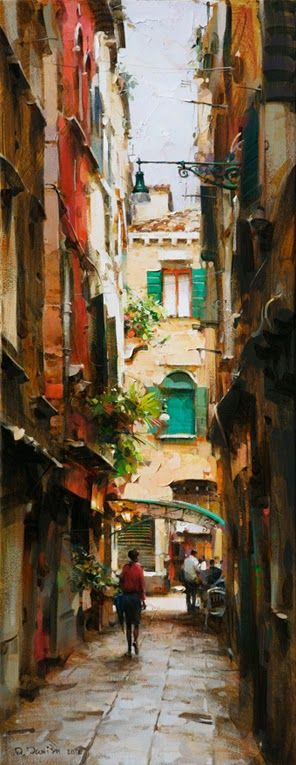 Narrow Street II - Dimitri Danish