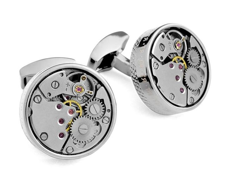 Tateossian.com - RT MECHANICAL Skeleton Movement - Rhodium