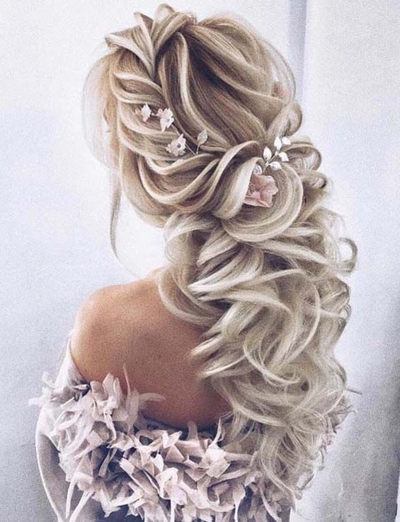 11 Adorable Wedding Hairstyles Trends In 2019 Braided Hairstyles For Wedding Hair Styles Bridesmaid Hair Short
