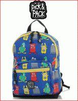 Pick & Pack rugzak Monsters
