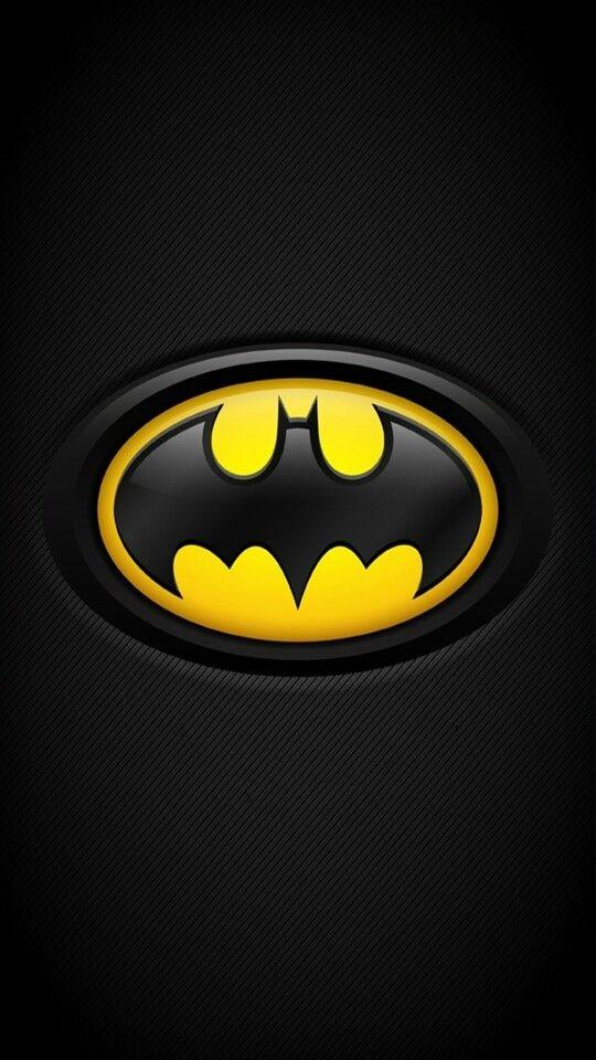 Batman logo wallpaper for mobile
