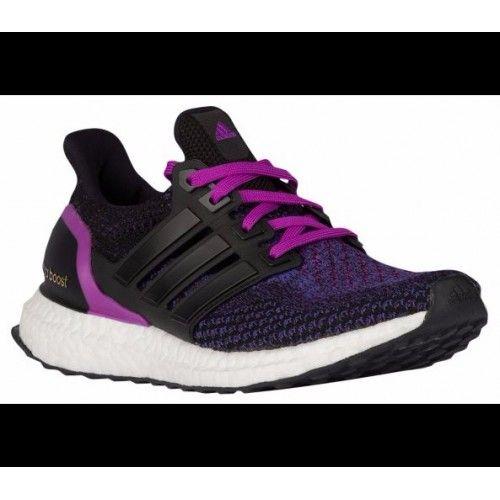 Adidas Boty Levně Ultra Boost Core Černá Core Černá Shock Nachový - Adidas  Obchod