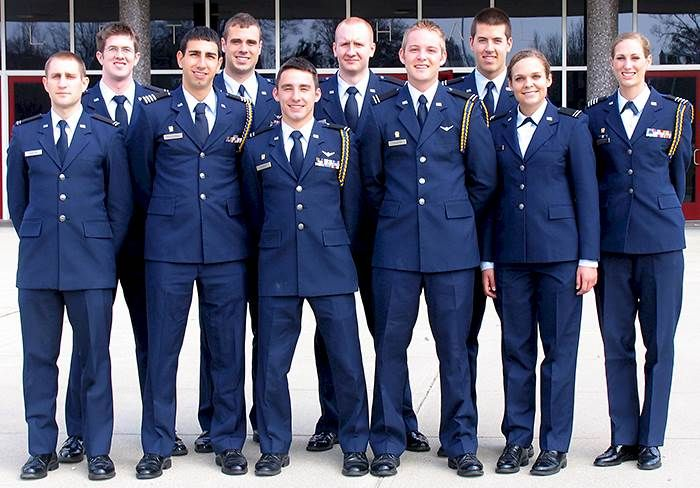 A Look Into The Life Of An Air Force ROTC