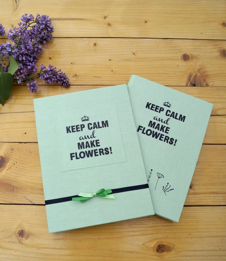 Notebook for a florist :)