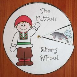 The Mitten by Jan Brett activities, mitten activities, mitten crafts, common core mittens,