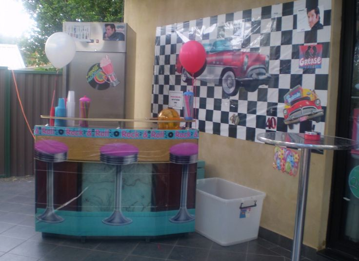 grease themed party activities