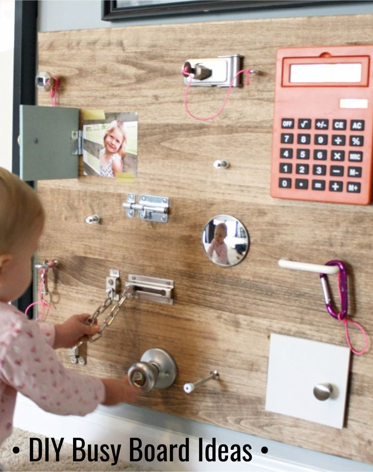 DIY Busy Board Ideas • Upcycled Projects To Try