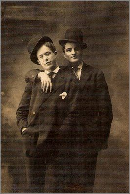 Late 19th Century Young Couple