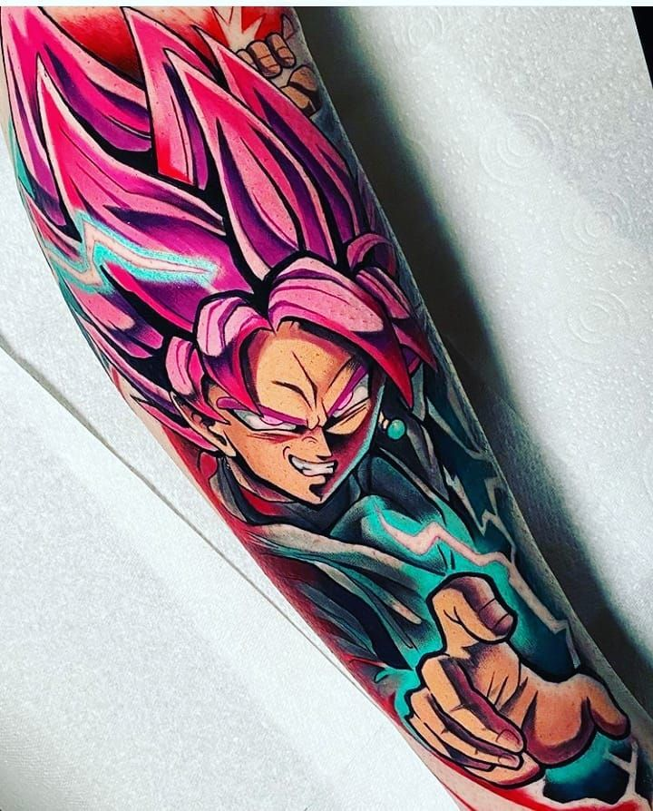 190 Me Gusta 0 Comentarios Animetattoo Animetatto En Instagram Goku Black Matsy Dbz Tattoo Anime Tattoos Dragon Ball Tattoo