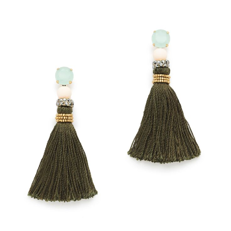 Fringe tassel earrings : earrings | J.Crew