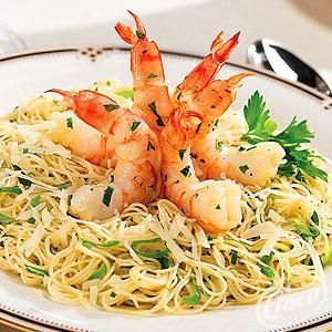 Garlic Shrimp and Angel Hair Pasta ~ Super quick and easy but still ...