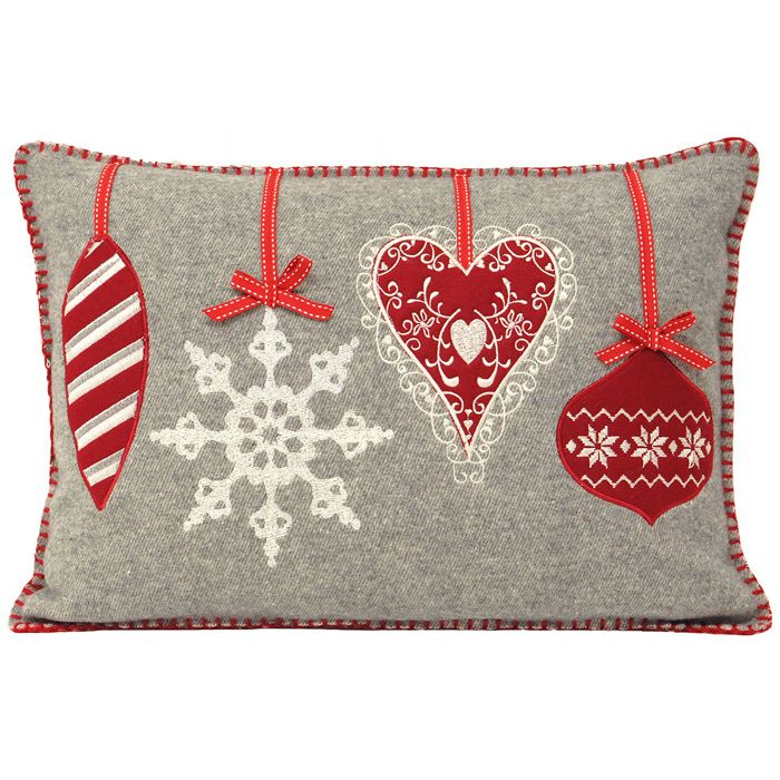 christmas bauble cushions - Google Search