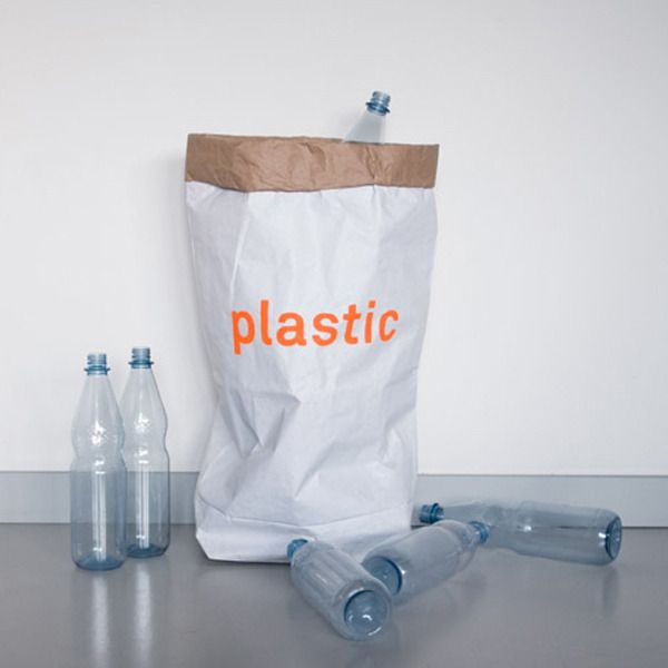 Image of  Waste bag for plastic / Papiersack für Plastik