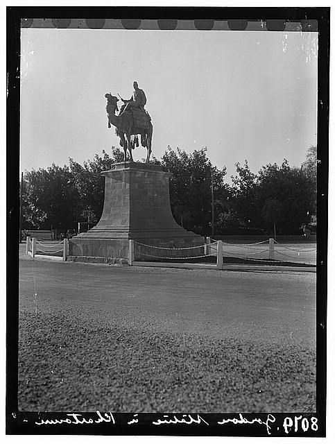 Sudan. Khartoum. Profile of the Gordon statue
