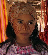 Colòmbia, La Guajira: Poble indígena Wayú (o Guajiro).