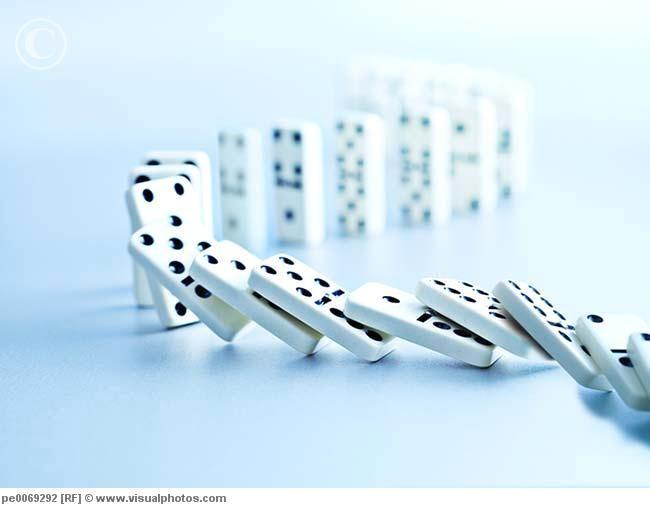 Best Dominoes Falling Like Karma Images On Pinterest - Video dominoes falling reverse simply mesmerizing