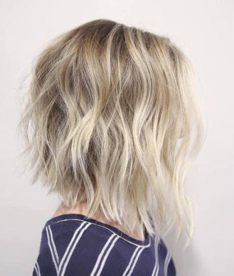 20 messy bob hairstyles. Bob hairstyles with bangs. Short haircuts. Short…