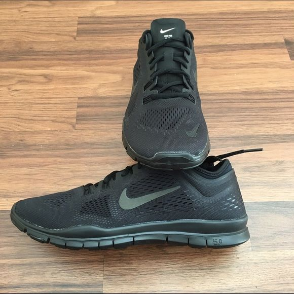 Nike Free Run All black Nike Free 5.0 Trainer Fit 4.   All Nike sneakers and products are brand new, never worn unless stated otherwise. Box provided upon request (no lid). No PayPal. No trades. Negotiable price through offer button only. Nike Shoes Athletic Shoes