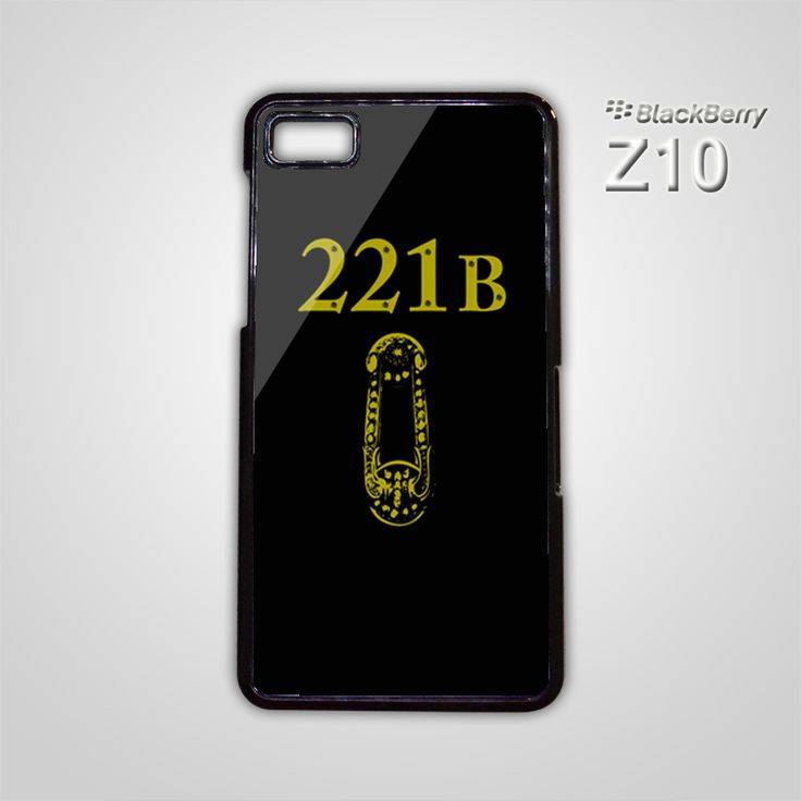 NEW 221 B 221B Door SHERLOCK HOLMES BB BlackBerry Z10 Z 10 Case Cover