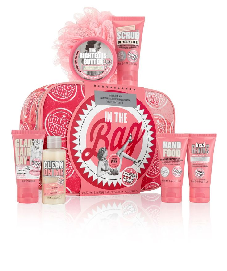 Shy, Strange and a Little Bit Manic: Soap and Glory 'In The Bag' Gift Set Giveaway