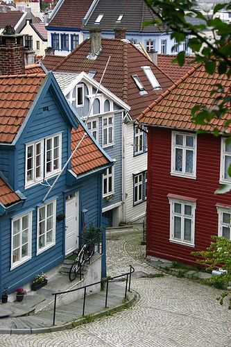 Klosteret, Bergen by Astrid., via Flickr