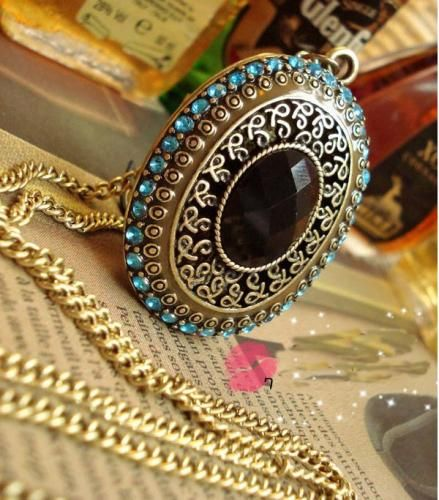 Vintage Baroque Palace Long Necklace