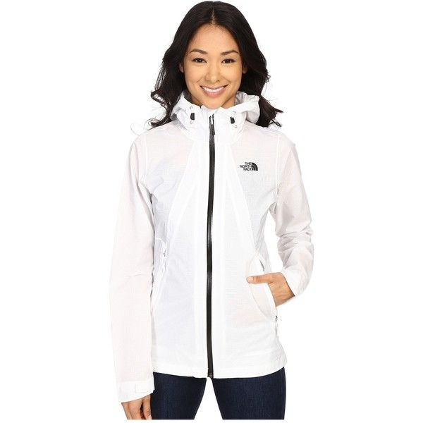 The North Face Venture Fastpack Jacket Women's Coat ($149) ❤ liked on Polyvore featuring outerwear, coats, waterproof raincoat, mac coat, hooded raincoat, the north face® coats and the north face