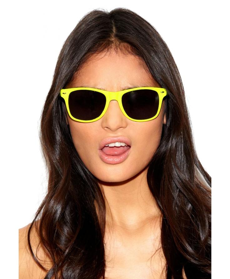 Keyah Neon Sunglasses