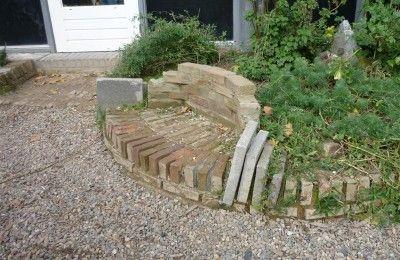 Stenen bank - Speelnatuur