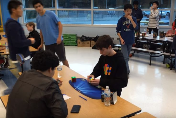 A teenager just pushed the Rubik's Cube world record under 5 seconds Fourteen-year-old Lucas Etter dragged the world record for solving a 3x3 Rubik's Cube under 5 seconds at Saturday's River Hill Fall competition in Clarksville Maryland where he solved a cube in 4.904 seconds. The World Cube Association verified the achievement with apost on its website early this morning. Etter's performance shavedthree-tenths of a second from the record fellow speedcuber Collin Burns set earlier this year…