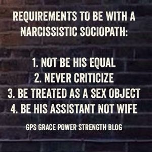 what do sociopaths want in a relationship