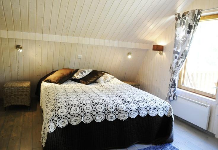 Bedroom in Villa Eerikki