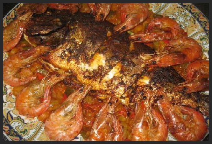 Ellouisa: Dorade in de oven met groentencharmilla