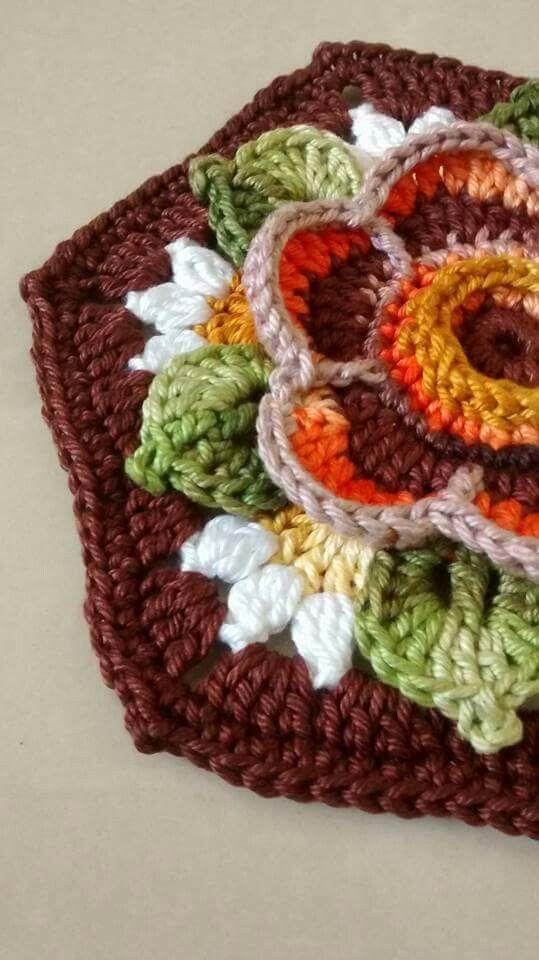 Frida's Flowers Blanket CAL 2016 - VARIATION