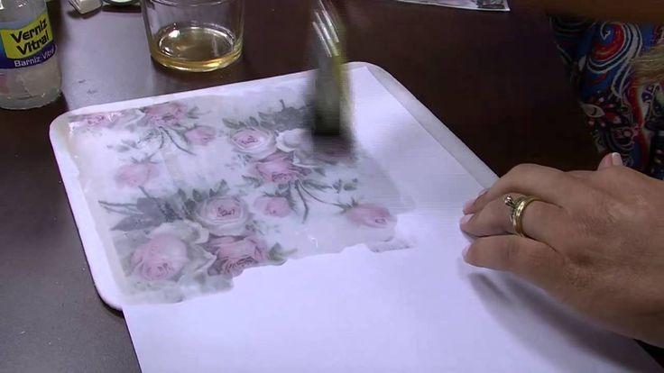 Técnica de Decoupagem parte 1