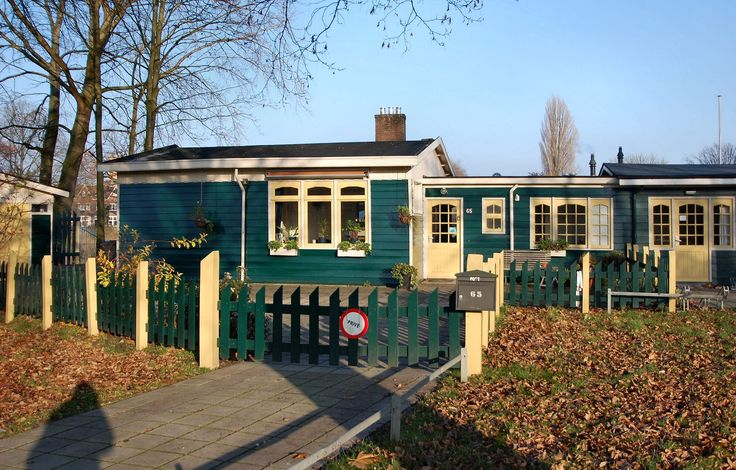 """Dienstwoning bij zwemvijver """"Tuindorp"""" in Hengelo   Monument - Rijksmonumenten.nl"""