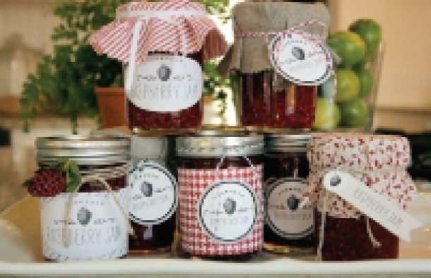 Truck Party Week: raspberry jam + labels - Jones Design Company
